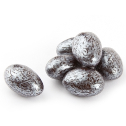 Silver Chocolate Almond Jewels