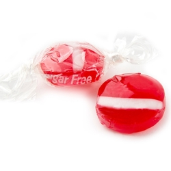 Sugar-Free Red Strawberry Candy Buttons