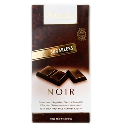 Sugarless Dark Swiss Chocolate Bar