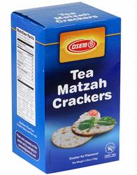 Israeli Tea Matzoh Crackers