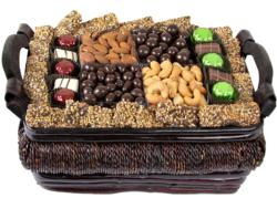 XL Thanksgiving Gourmet Sugnature Wicker Basket