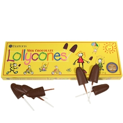 Bartons Milk Chocolate Lollycones