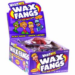 vWack-O-Wax Fangs Candy - 24CT Box