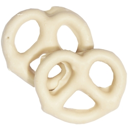 White Chocolate Covered Pretzels - 10CT
