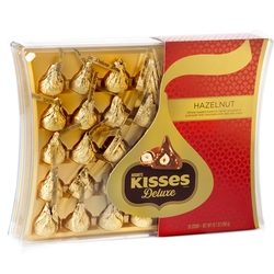 Hershey Hazelnut Kisses Deluxe Gift Box