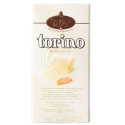 Torino White Chocolate Bar With Truffle Filling
