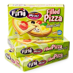 Fini Kosher Filled Pizza Gummies - Theater Boxes - 12CT