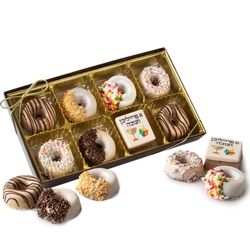 Hanukkah Premium Parve Chocolate Gift Box - 8CT
