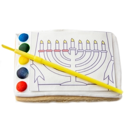 All in One Paint a Cookie Kit- Hanukkah Menorah