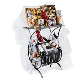 Purim Exquisite Magazine Table Gift Basket