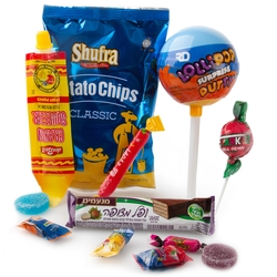 Purim Kids Lollipop Surprise Putty Gift Mishloach Manos - 6 Pack