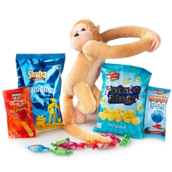 Purim Kids Talking Monkey Gift Mishloach Manos