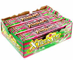 AirHeads Xtremes Wacky Watermelon Sour Belts - 18CT Box