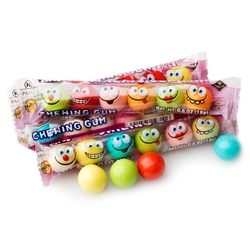 Fini Smiling Mini Bubble Gums - 80CT