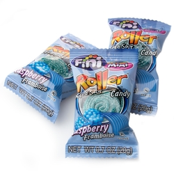 Extra Sour Roller Candy - Blue Raspberry