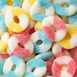 Fini Kosher Assorted Sour Rings