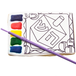 All in One Paint a Cookie Kit- Hanukkah
