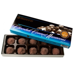 Bartons Passover Chocolate Covered Macaroons - 8oz Box