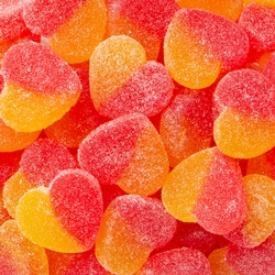 Two-Tone Jelly Hearts