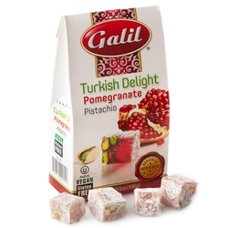 Pomegranate & Pistachio Turkish Delight - 3.5oz Box