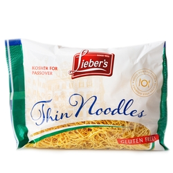 Passover Gluten Free Thin Noodles - 9oz Bag