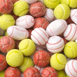 Fini Kosher Sports Balls Bubble Gum - 2.2 LB Bag