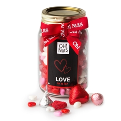 Valentines Day / Mothers Day 'Love in a Jar' Mason Jar
