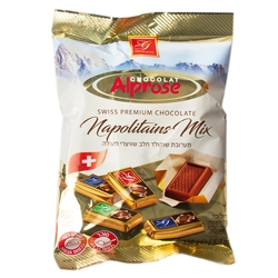 Assorted Milk Chocolate Napolitains - 5.3oz Bag