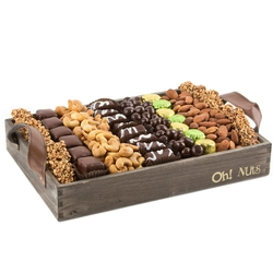 Passover Wooden Gift Tray - large