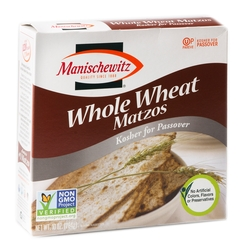 Passover Matzo Whole Wheat - Non GMO