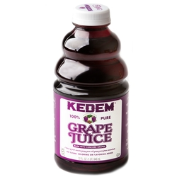 Passover Kedem 100% Pure Grape Juice - 1 QT.
