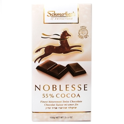 Noblesse Bittersweet Chocolate Bar - 55% Cocoa