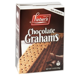 Passover Gluten Free Chocolate Graham Crackers - 7.5 OZ Box