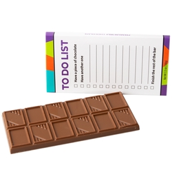 'To Do List' Chocolate Bar Favor