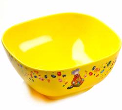Jelly Belly Yellow Melamine Candy Bowl