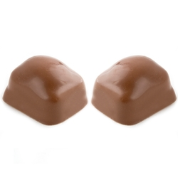 Hand Made Double Chocolate Dairy Chocolate Truffles - 12 CT Box