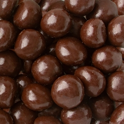 Non Dairy Coffee Caramel Balls In Smooth Layer of Dark Chocolate