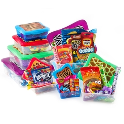 Kids Purim Tower of Sweets Gift Basket
