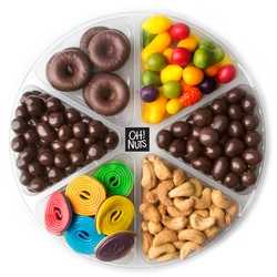 4-Section Chocolate & Nut Tray