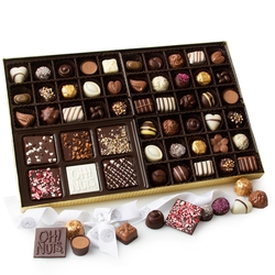 Oh! Nuts Gourmet Non-Dairy Chocolate Truffle Gift Box - 57CT