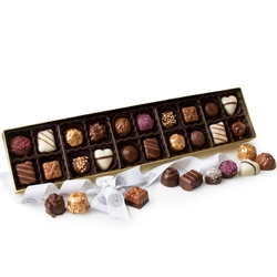 Gourmet Non-Dairy Chocolate Truffle Gift Box - 20CT
