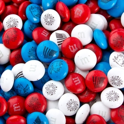 Patriotic M&M's Chocolate Candy Freedom Mix