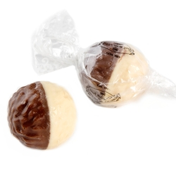 Senior Half and Half Milk Chocolate Praline - 2.2 LB