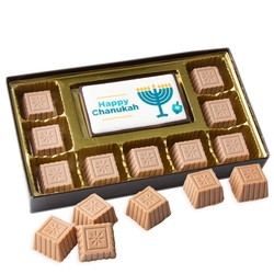 Hanukkah Chocolate Truffle Gift Box