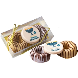 Hanukkah Premium Parve Chocolate Gift Box - 3CT