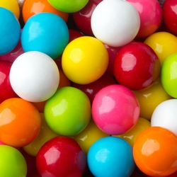 Assorted Large Gumballs