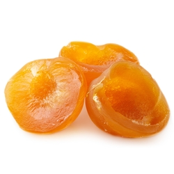 Glazed Peaches