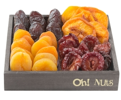 Wooden Dried Fruit Line Up