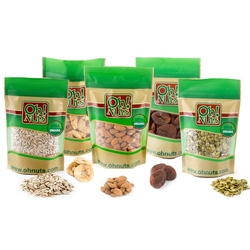 USDA Organic Nuts & Dried Fruit Healthy Pack
