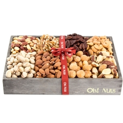 Wooden Nuts Line Up - Large